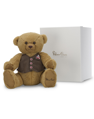 George Bear with Box