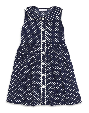 Polka Dot Button Down Dress