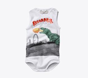 Stella McCartney Dinosaur Babygrow