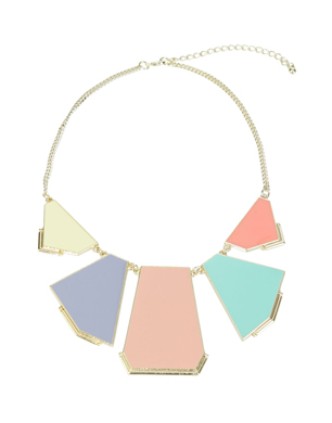 Geometric Panel Necklace