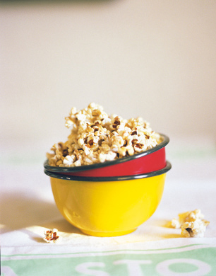 Honey and Cinnamon Popcorn