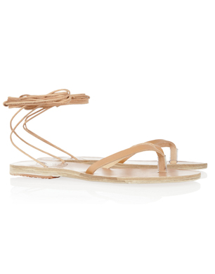 Pythia Leather Sandals