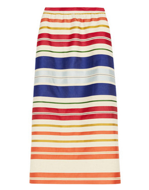 Stella McCartney Deckchair Stripe Skirt