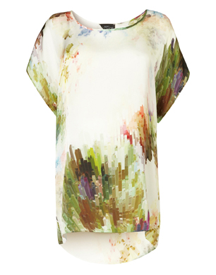 Maternity Colour Burst Tunic