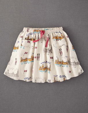 Westminster Printed Skirt