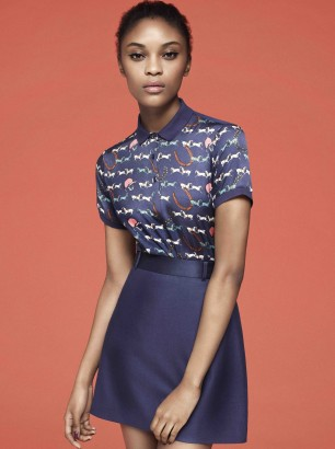 Fred Perry Richard Nicoll AW12 collection