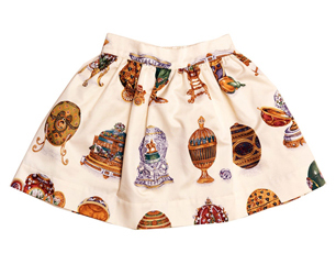 GIRLS PRINTED SKIRTS