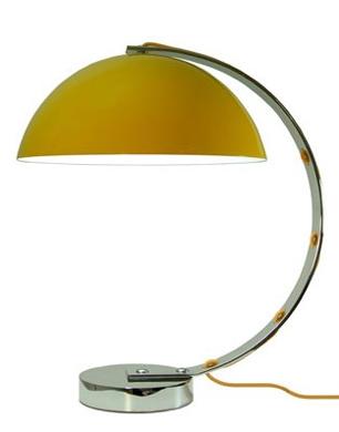 London Table Lamp In Yellow