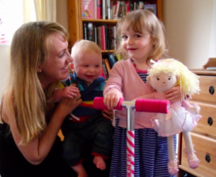 Mummy Mode Blog - Helena With Lyla And Theo