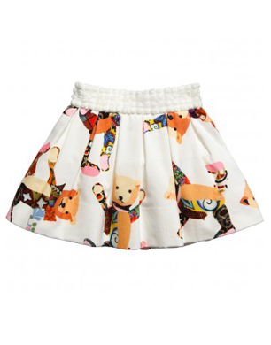 Simonetta Teddy Bear Skirt