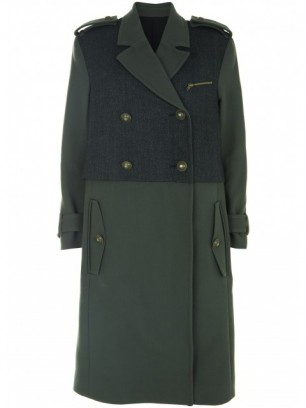 Topshop Best of British Military Coat