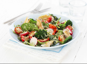 dukan diet superfood salad