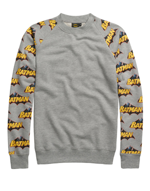 Batman Bat Arm Sweatshirt