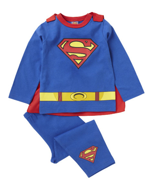 Superman Pyjamas with Cape