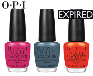 OPI competition expired