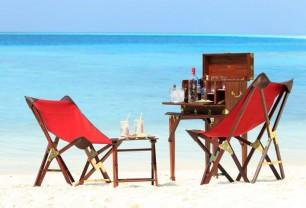 baros-maldives- Sandbank dinner