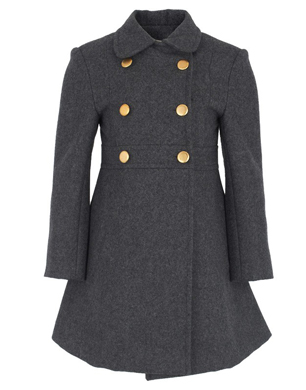 Livly Grey Jules Wool Coat
