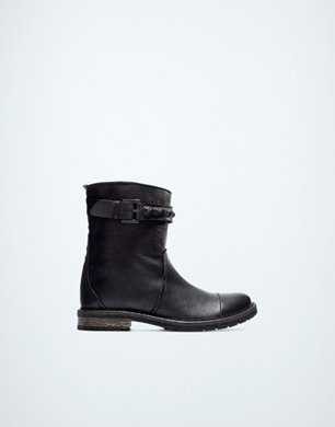 Fashion Biker Ankle Boot