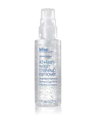 Bliss Lid and Lash Wash Makeup Remover