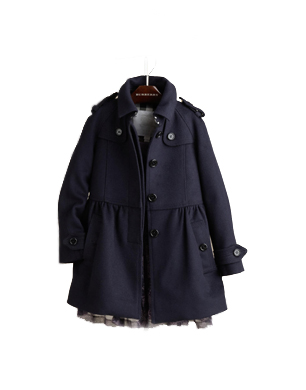 Wool Cashmere Swing Coat