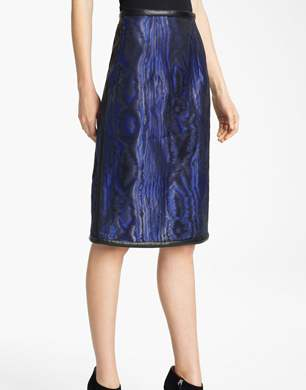 Christopher Kane Moiré Pencil Skirt