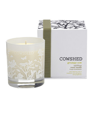 Grumpy Cow Uplifting Room Candle