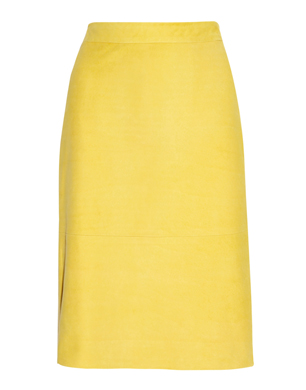 J Crew Leather Pencil Skirt