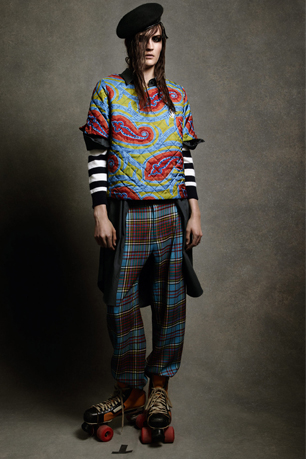 JW Anderson for Topshop model shot
