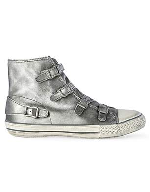 Kurt Geiger Lizzy Metallic High Tops