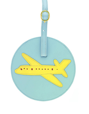 Julie Slater & Sons Leather Luggage Tag