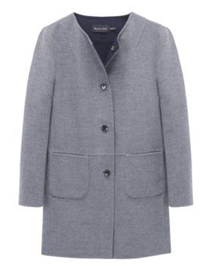 Reversible Two-Tone Double Fabric Coat