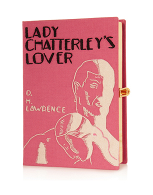 Olympia Le-Tan Lady Chatterly's Lover Embroidered Clutch