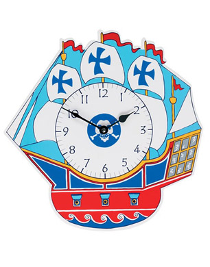 PIRATE SHIP CLOCK