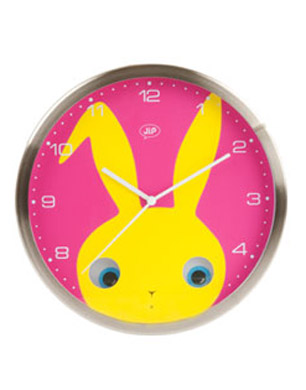 PEEKABOO RABBIT CLOCK