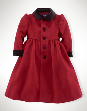 Wool Princess Coat