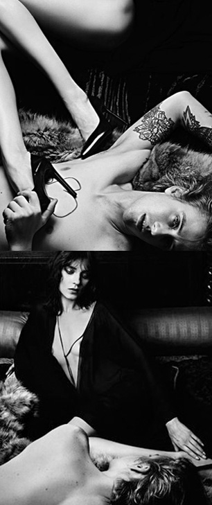 Saint Laurent AW12 Campaign