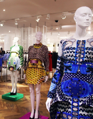 London Fashion Week at Selfridges