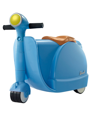 Skoot Ride-On and Pull-Along Suitcase