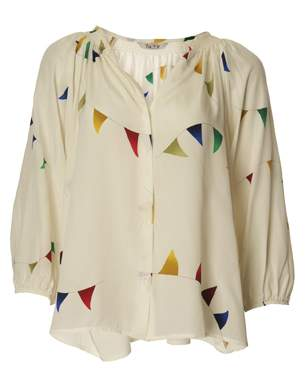 Tucker Smock Blouse