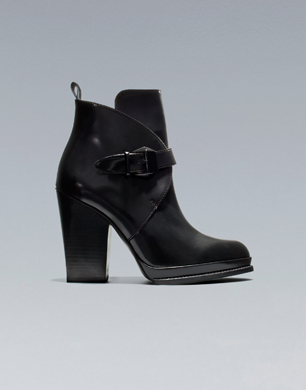 Ankle Boot With Buckle