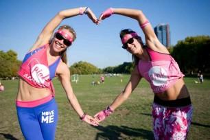 pink aerobics 2012