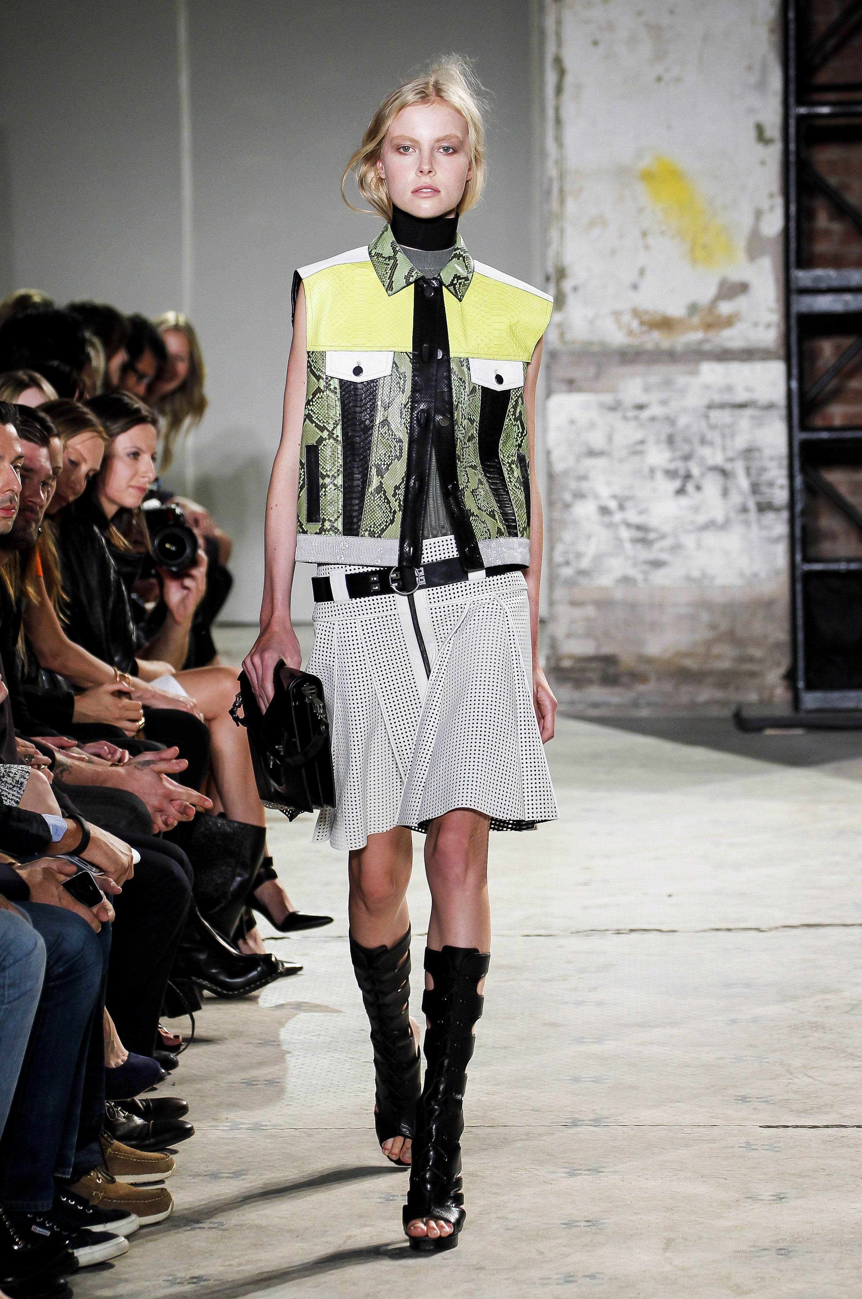 Proenza Schouler show, Spring Summer 2013, Mercedes-Benz Fashion Week, New York, America - 12 Sep 2012