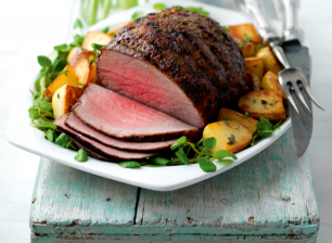 roast-beef-with-lemon-and-anchovy-butter