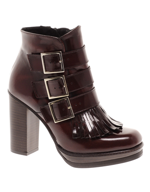 Alliance Leather Ankle Boots