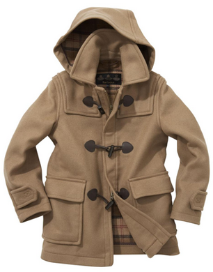 Barbour Childrens Unisex Duffle Coat