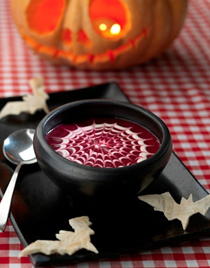 Baxter's Spooky Beetroot Soup Post