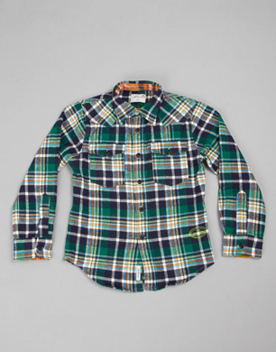 Ewout Cotton Lumberjack Shirt