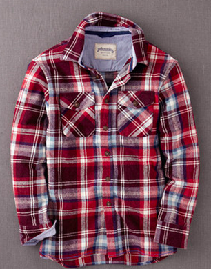 Brushed Checked Shirt
