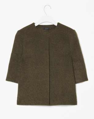Melange Wool Jacket
