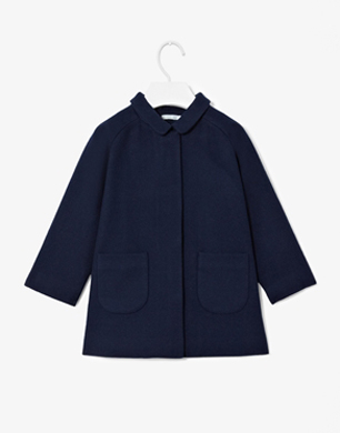 Cket Detail Coat